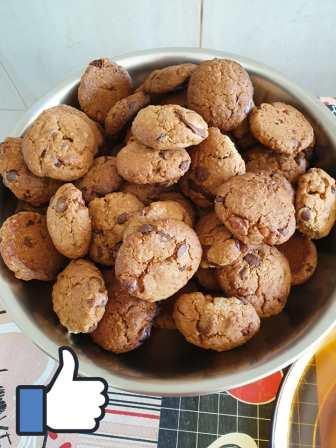 Receita de Cookies da dona Neusa de Eldorado