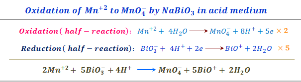 Balancing chemical equation by electron