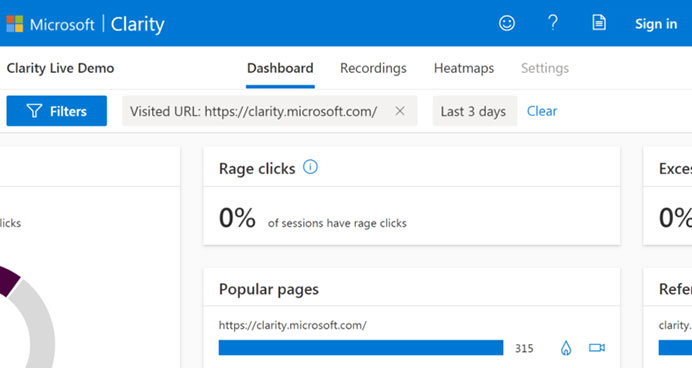 What is Microsoft Clarity Analytics: eAskme