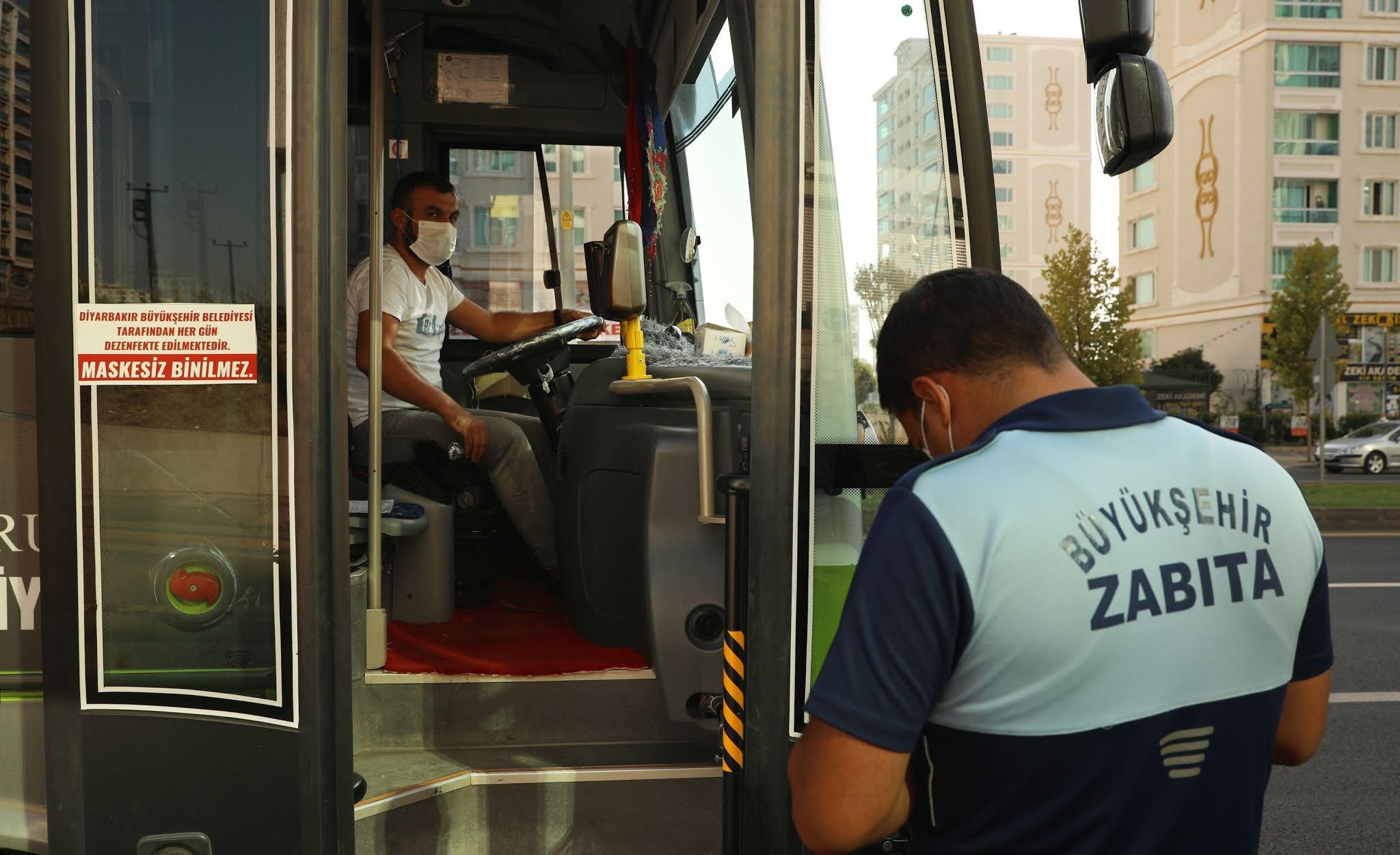 Diyarbakır Büyükşehir Belediyesi Koronavirüs denetimlerini sürdürüyor