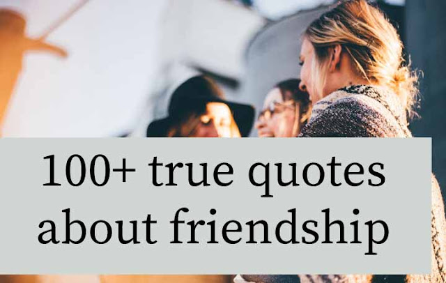 True Quotes on friendship