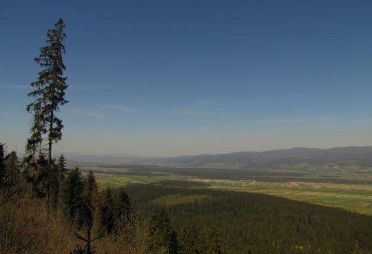 Panorama w kierunku północno-zachodnim