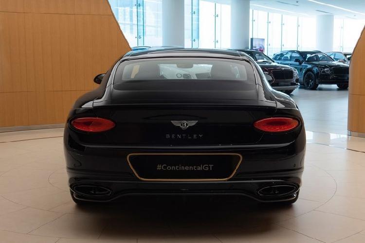 Ra mắt Bentley Continental GT Aurum Edition mạ vàng 10 chiếc