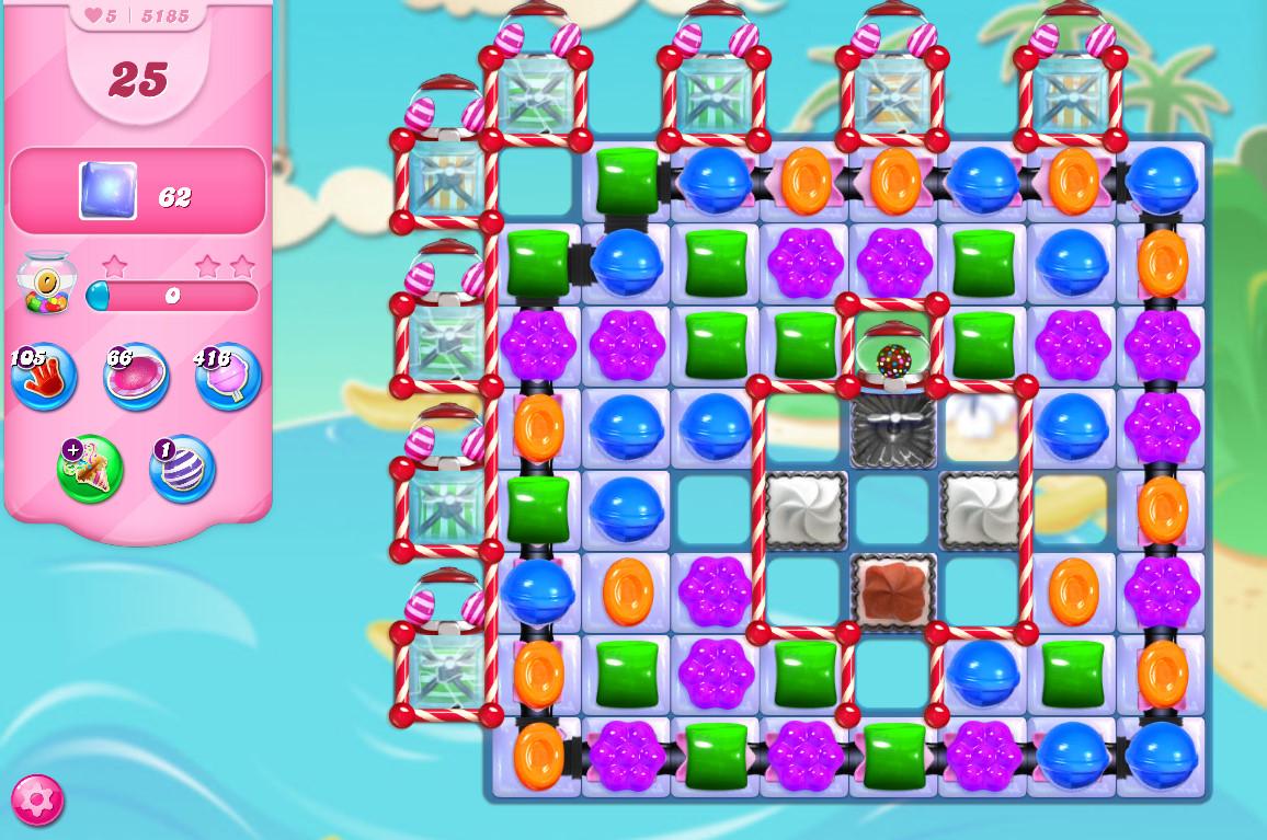 Candy Crush Saga level 5185