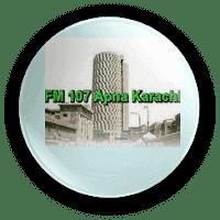 FM Radio 107 Apna Karachi Live