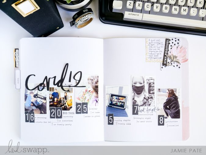 Celebrating (Inter)National Scrapbook Day With Heidi Swapp Storyline Chapters by Jamie Pate