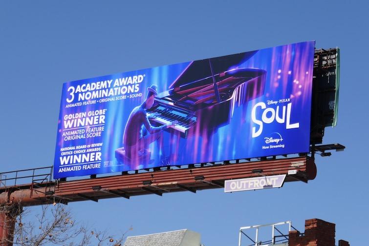 Soul Academy Award nominee billboard