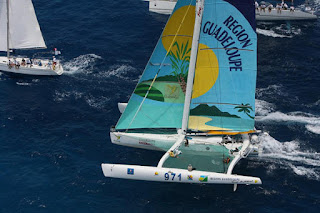 Sailing Week Antigua race
