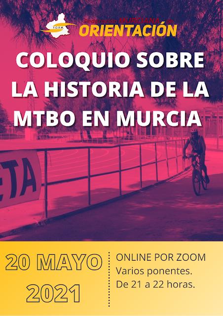 COLOQUIO ONLINE SOBRE LA HISTORIA DE LA MTBO
