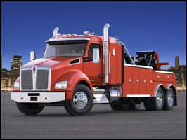 Kenworth T880S Tow Truck with 42 inch sleeper