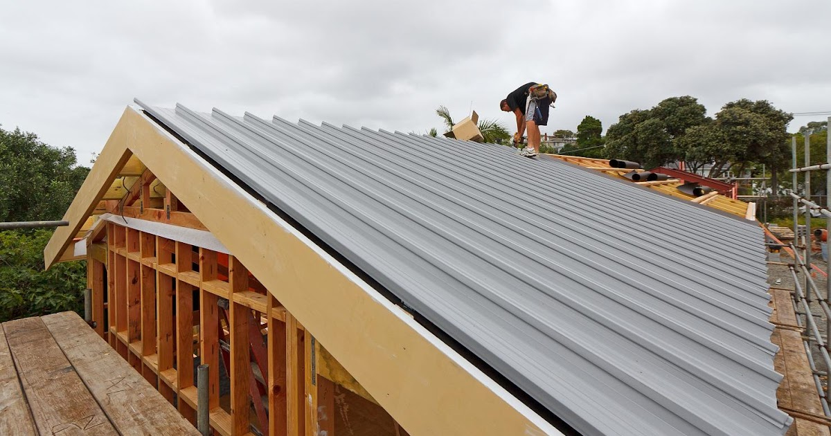 Metal Roof The New Zealand S First Passive House