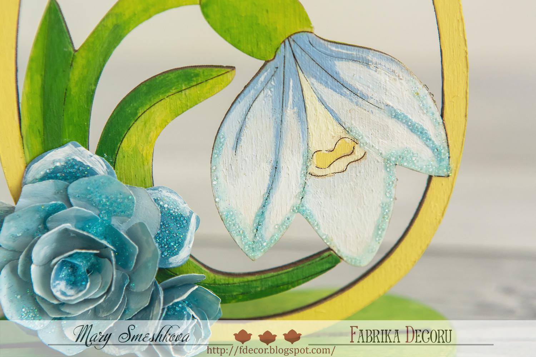 Бумага для работы с акриловыми красками Роспись по стеклу