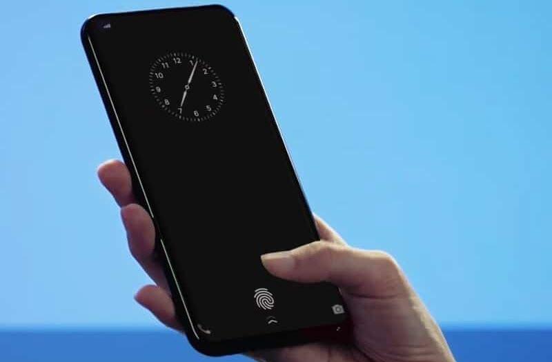 Vivo تكشف عن أول هاتف ذكي مع مستشعر البصمة مدمج في الشاشة