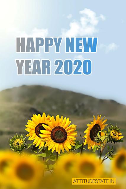 new year wish photo
