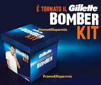 """Concorso Gillette """"Vinci un Bomber Kit 2"""" : in palio gratis 1000 Bomber kit ( valore 225 euro)"""