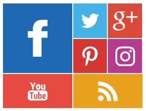 Widget Sosial Media Style Kotak