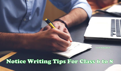 How to write a notice in school? (Examples,Formats,Topic,Tips and Samples)