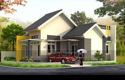 desain rumah minimalis posisi pojok - rumah xy