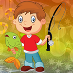 G4K Gleeful Fishing Boy E…