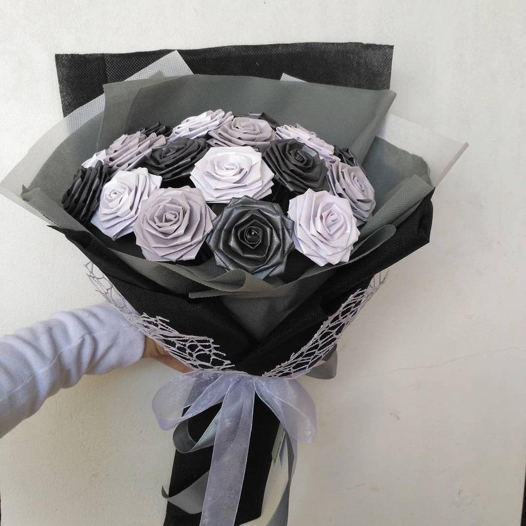 gambar mawar hitam indah