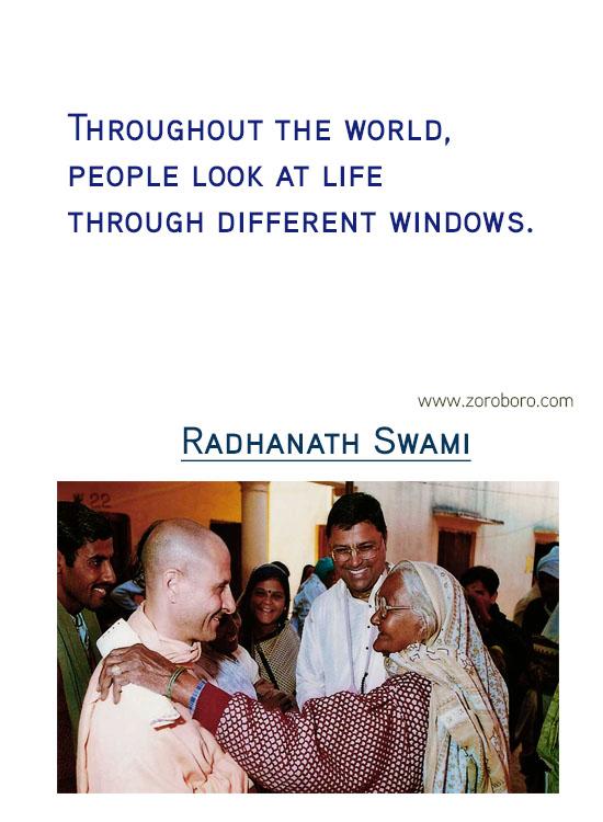 Radhanath Swami Quotes.Compassion,Krishna ,Radhanath Swami Inspirational Quotes, Iife, Radhanath Swami Motivational Quotes. Radhanath Swami Philosophy