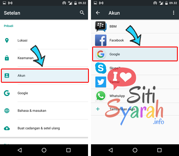 cara log out akun playstore