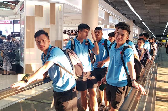 U23 Việt Nam đã có mặt ở Buriram, chuẩn bị đấu UAE 3