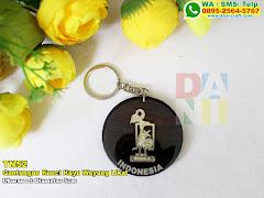 Gantungan Kunci Kayu Wayang Likal