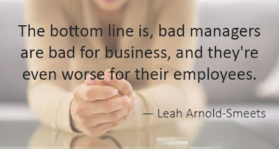 Bad managers are bad for business and the employees