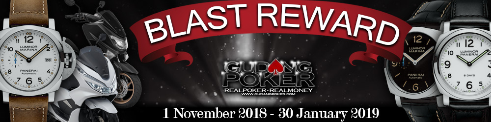 Event Blast Reward GudangPoker