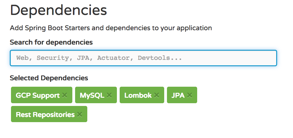 The Blas from Pas: Spring Cloud GCP using Spring Data JPA with MySQL