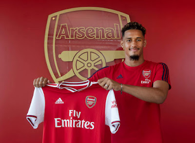 William Saliba Signs for Arsenal