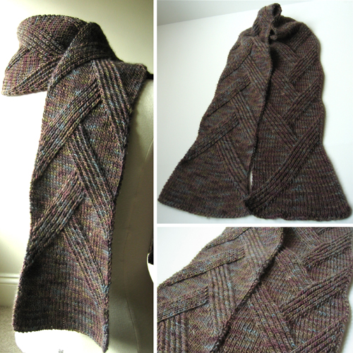 Rippenschal Scarf - Free Pattern