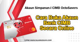 Akaun Simpanan-I CIMB Octosavers ~ Buka Akaun Bank CIMB Secara Online