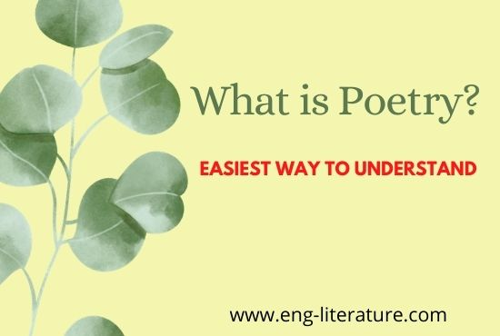 What is Poetry? Easiest Way to Understand
