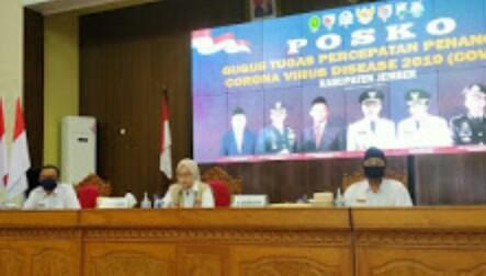 Rapat Kordinasi Pilkada 9 Desember 2020 ,Kabupaten Jember Siap