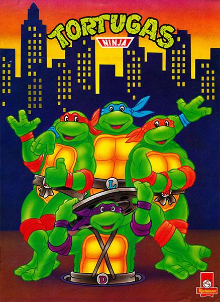Póster Las Tortugas Ninja nº 14