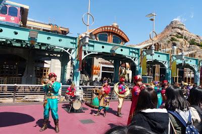 Music performance at Tokyo Disneysea Japan