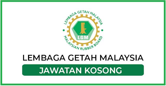 PELBAGAI KEKOSONGAN JAWATAN DI LEMBAGA GETAH MALAYSIA - MOHON SEBELUM 05 MARCH 2021