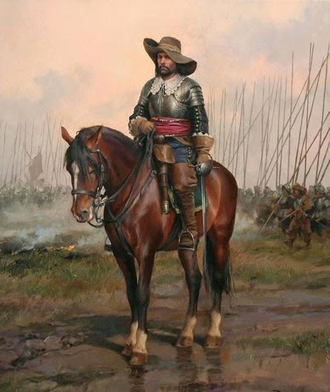 Spanish Cavalry officer