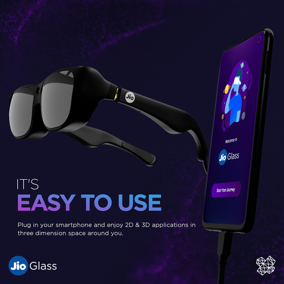 HD Sunglasses, Jio releases glass that supports 3D Virtual Class!