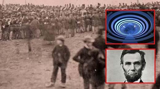 Viajero del tiempo dice tener prueba fotográfica de que fue al año de 1863 y vío a Abraham Lincoln