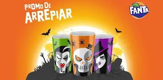 Cadastrar Promoção Fanta de Arrepiar Ganhe Copo Brilha Escuro Halloween 2019