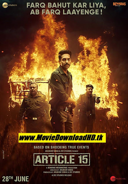 Article 15 (2019) Hindi Full Movie Download
