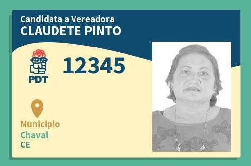 Vereadora Claudete Pinto é afastada da Câmara de Chaval por suspeita de compra de voto.
