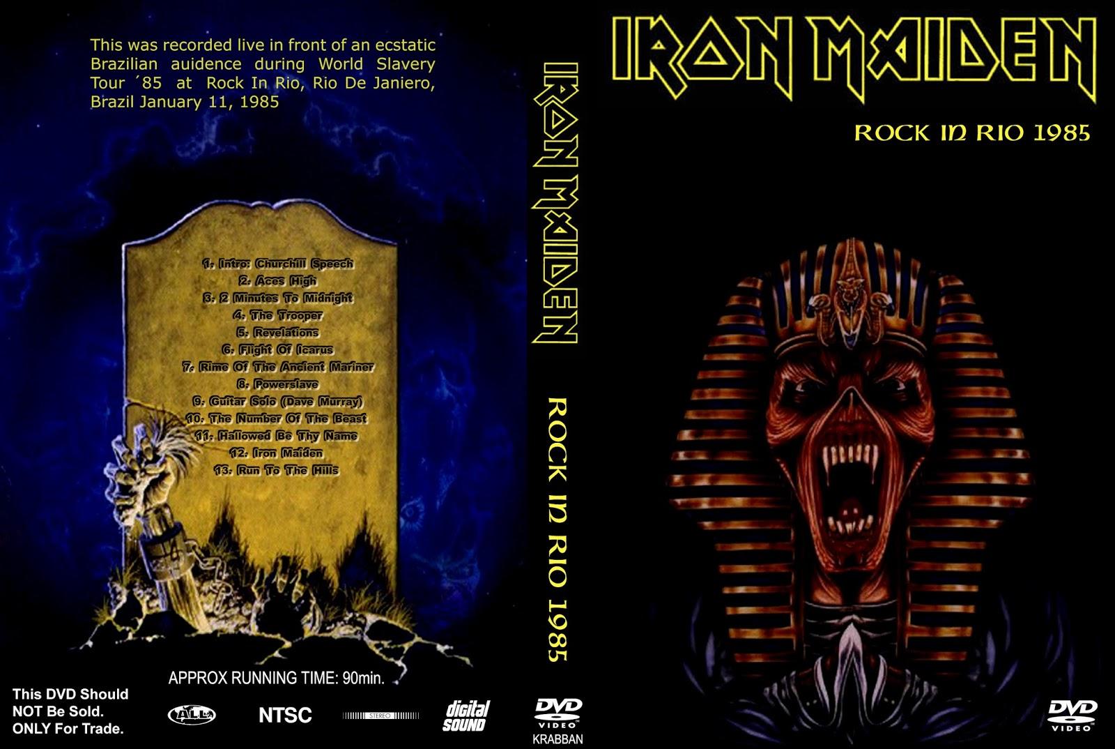 Boneyard Metal: 80's Metal: Iron Maiden (UK) - Rock In Rio (Live
