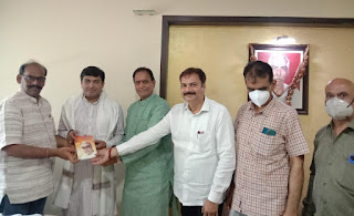 #JaunpurLive : उत्तर भारतीय मोर्चा के महत्वपूर्ण कार्यक्रम चौपाल को लेकर भांडुप में हुई बैठक
