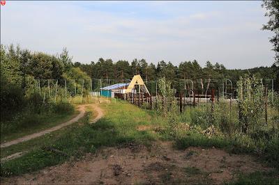 Строительство рядом с санаторием в Новом поле