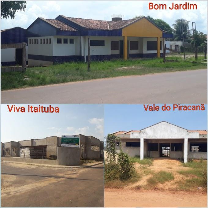 Obras de construção de Centros de Educação Infantil e Creche em Itaituba, andam em passos lentos.