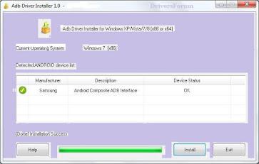 ADB Driver Installer v1 0